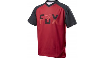 FOX Ranger maillot manches courtes enfants-maillot Youth Loosefit taille red/black