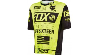 Fox Demo Union Trikot kurzarm Herren-Trikot Gr. M flo yellow