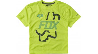 Fox Flip Shot Trikot kurzarm Kinder-Trikot Youth Tech Tee flo yellow