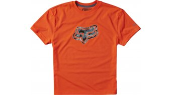 FOX Qualifier maillot manches courtes enfants-maillot Youth Tech Tee taille 134 (YM) flo orange