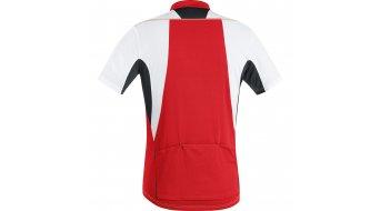 GORE Bike Wear Element maillot de manga corta Caballeros-maillot Full-Zip tamaño S blanco/rojo