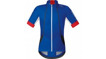 GORE Bike Wear Oxygen Trikot kurzarm Herren-Trikot Rennrad Windstopper Soft Shell Gr. XL brilliant blue/red