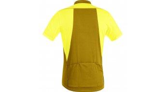 GORE Bike Wear Element maillot de manga corta Caballeros-maillot Full-Zip tamaño S cadmium amarillo/golden oak