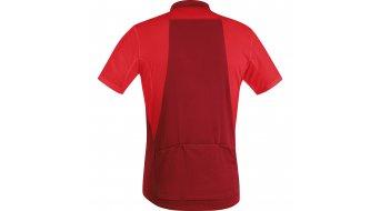 GORE Bike Wear Element maillot de manga corta Caballeros-maillot Full-Zip tamaño S rojo/ruby rojo