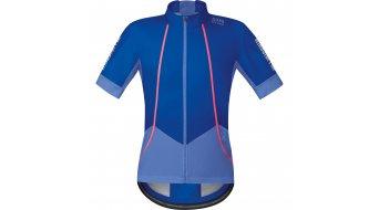 GORE Bike Wear Oxygen Trikot kurzarm Herren-Trikot Rennrad Windstopper Soft Shell Gr. S brilliant blue/blizzard blue