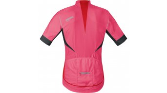 GORE Bike Wear Oxygen maillot de manga corta Caballeros-maillot bici carretera Windstopper Soft Shell tamaño M Giro pink/rojo