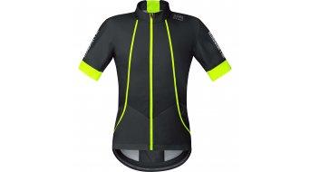 GORE Bike Wear Oxygen Trikot kurzarm Herren-Trikot Rennrad Windstopper Soft Shell Gr. S black/neon yellow