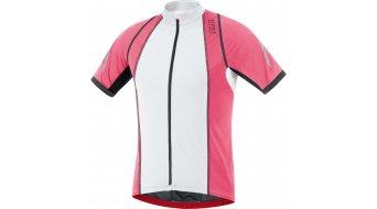 GORE Bike Wear Xenon 3.0 maillot de manga corta Caballeros-maillot bici carretera tamaño L blanco/Giro pink