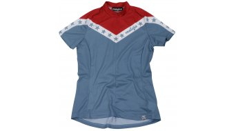 Maloja Women AnitaM. jersey short sleeve size L blue steel