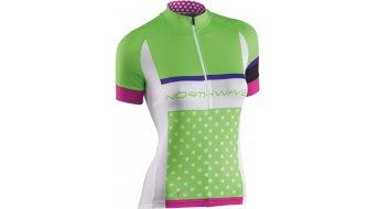Northwave Logo Trikot kurzarm Damen-Trikot Jersey Gr. L green/white