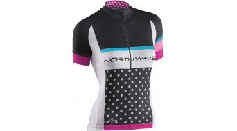 Northwave Logo Trikot kurzarm Damen-Trikot Jersey Gr. L black/white
