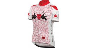 Pearl Izumi Elite LTD maillot de manga corta Señoras-maillot doves rojo