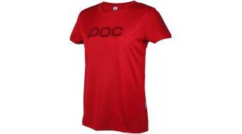 POC Trail Light maillot de manga corta Señoras-maillot Loosefit tamaño XS pewter rojo