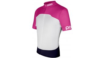POC Raceday Climber maillot manches courtes hommes-maillot Fitted taille L fluorescent rose/hydrogen white- objet de démonstration