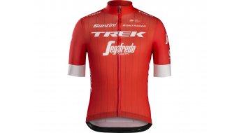 Santini Trek-Segafredo Replica 领骑服 短袖 男士 型号 款型 2018