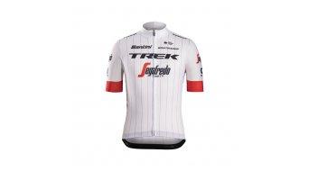 Santini Trek-Segafredo Replica Tour de France Edition 领骑服 短袖 男士 型号 白色 款型 2018