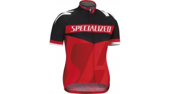 Specialized Pro Racing Trikot kurzarm Kinder-Trikot Rennrad Jersey Gr. L black/red