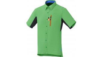 Shimano Button Up maillot de manga corta Caballeros-maillot