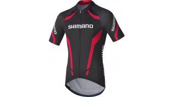 Shimano Performance Print maillot de manga corta Caballeros-maillot negro/rojo