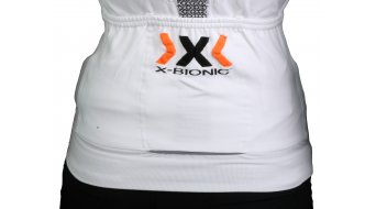 X-Bionic The Trick Trikot kurzarm Damen-Trikot Full Zip Gr. XS white/black