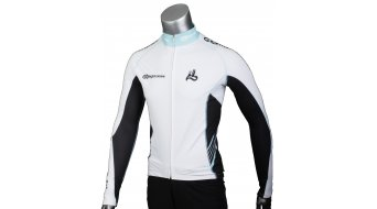AX Lightness premium Full-Zip jersey long sleeve black/white/blue