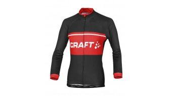 Craft Classic Logo Trikot langarm Herren-Trikot Gr. XL black/bright red/white