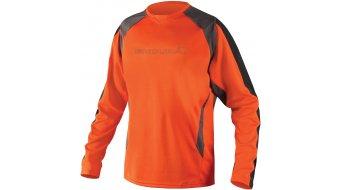 Endura MT500 Burner II Trikot langarm Herren-Trikot MTB Gr. S orange