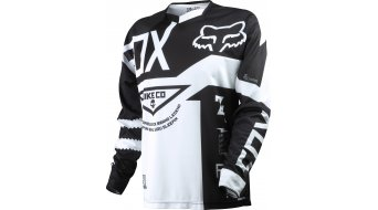 FOX Demo Trikot langarm Gr. S black/white