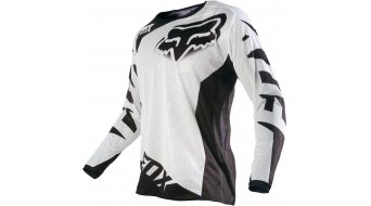 Fox 180 Race Airline Trikot langarm Herren MX-Trikot white