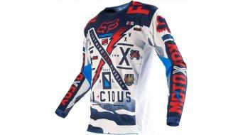 FOX 180 Vicious maglietta manica lunga uomini Mx- maglietta mis. M blue/white