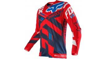 Fox 360 Divizion maillot manga larga Caballeros MX-maillot tamaño XL rojo