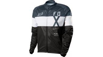 Fox Livewire Shield maillot manga larga Caballeros-maillot Windblock tamaño S negro
