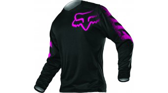 Fox Blackout Trikot langarm Damen MX-Trikot Gr. XXL black/pink