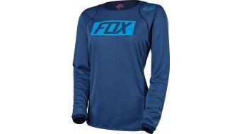 FOX Ripley maglietta manica lunga da donna- maglietta . navy