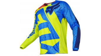 Fox 180 Nirv maillot manga larga niños MX-maillot Youth amarillo/azul
