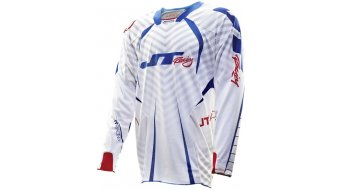 JT Racing Evolve Protek Fader Vented MX-Trikot langarm Gr. S red/white/blue Mod. 2013