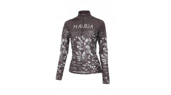 Maloja MarrakeshM. jersey long sleeve ladies- jersey bike shirt size XS ash