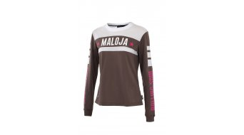 Maloja RachidaM. jersey long sleeve ladies- jersey Freeride shirt ash