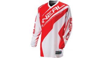 ONeal Element Racewear maglietta manica lunga mis. S bianco/rosso mod. 2016