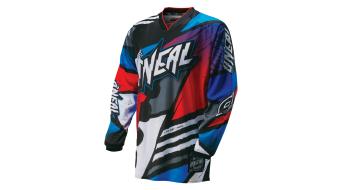 ONeal Mayhem Lite Glitch maglietta manica lunga . blu/rosso mod. 2016