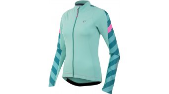 Pearl Izumi Elite Pursuit Thermal maillot manga larga Señoras-maillot bici carretera aqua mint stripe