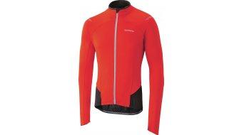 Shimano Winter Performance maglietta manica lunga uomini- maglietta . rosso
