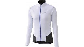 Shimano invierno maillot manga larga Señoras-maillot blanco(-a)