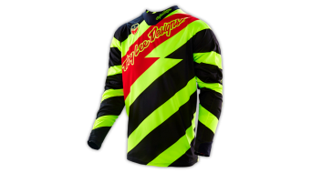 Troy Lee Designs SE Trikot langarm Herren-Trikot MX-Trikot caution flo yellow/black Mod. 2016