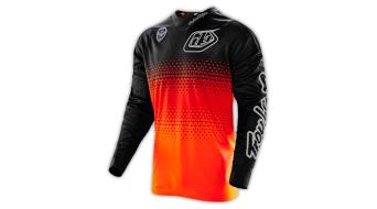 Troy Lee Designs SE maglietta manica lunga uomo Mx- maglietta mis. L starbust flo arancione/black mod. 2016