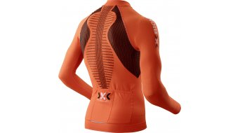 X-Bionic The Trick Trikot langarm Herren-Trikot Full Zip Gr. S orange sunshine/black
