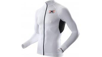 X-Bionic The Trick maillot manga larga Caballeros-maillot Full Zip tamaño S blanco/negro