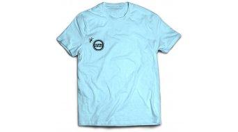 Chris King Angry Bee T-Shirt kurzarm Herren-T-Shirt light blue