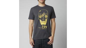 Fox Draut camiseta de manga corta Caballeros-camiseta tamaño XL heather negro