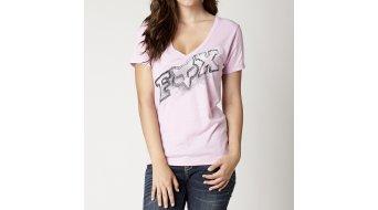 Fox Dusty 2 T-Shirt kurzarm Damen-T-Shirt V-Neck Gr. XL sweet pea